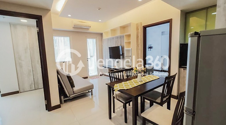 Living Room Scientia Residence Summarecon Serpong Apartment