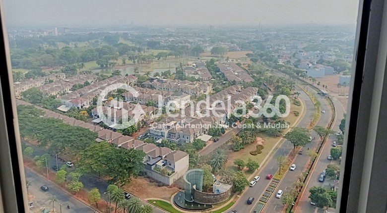 Balcony M-Town Residence Serpong Apartment