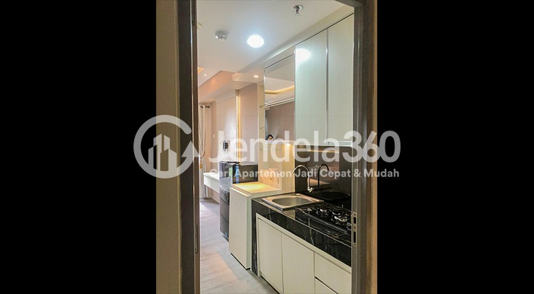 Kitchen Apartemen Akasa Pure Living Apartment
